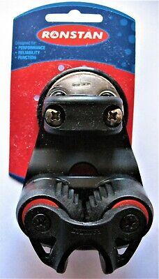 """Ronstan Swivel Dead Eye /& Cleat Fairlead Rope 3-12mm 1//8-1//2/""""/"""""""
