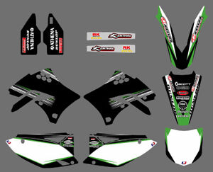 2009-2011-For-Kawasaki-KX450F-KXF450-Lower-Fork-Deco-Decal-Swingarm-Graphics-Kit