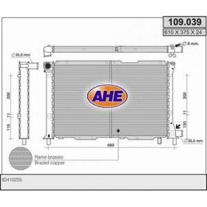 radiador-del-motor-FIAT-CROMA-154-LANCIA-Tema-834-2-4td-ahe-109-039