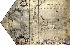 Colonial Era Map of the British West Indies - 1765 - Poster in 5 ...