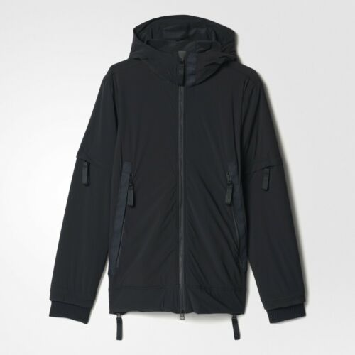 $350 Adidas Consortium Day One Men Softshell Track Jacket black