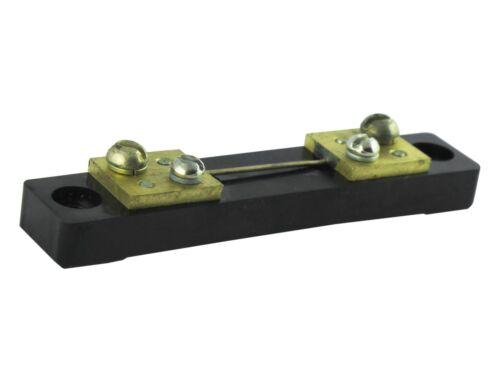 5A 0.5/% 75mV 75SHCM  Copper Ammeter Shunt Resistor DC Current