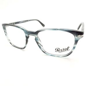 486ace40b0be9 Persol 3117 V 1051 51mm Grey Striped New Authentic Eyeglass Frame rl ...