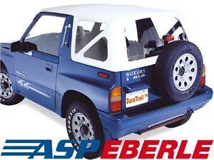Das Bild Wird Geladen Verdeck Softtop Ersatzverdeck Suzuki Vitara 88 04 Weiss