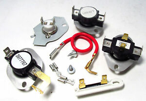 New Part 3399693 3392519 306910 3399848 Kenmore Clothes Dryer Thermostat Kit