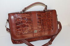 OKAYSAC OKAY SAC 70er 70s Vintage VTG LEDER Tasche MESSENGER Leather BAG Satchel