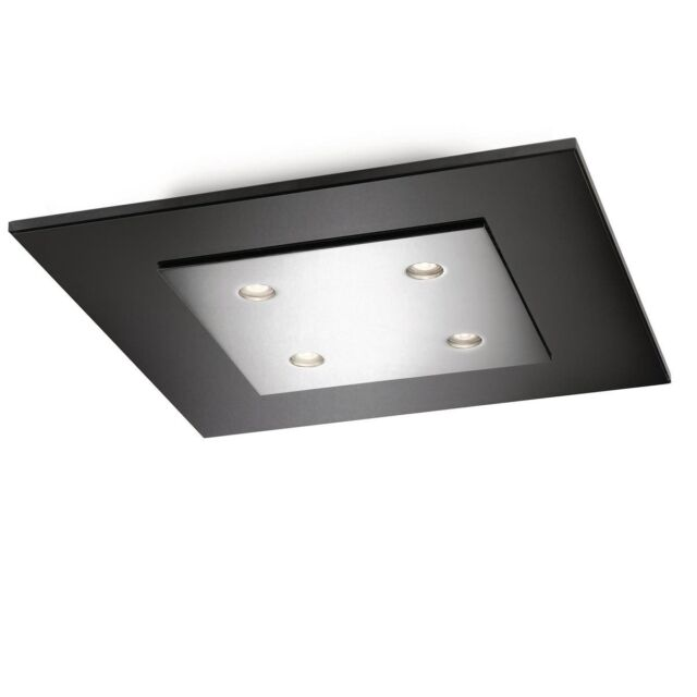 Philips instyle matrix ceiling light chrome integrated 4 x 25 watts philips instyle 407401116 chome matrix 4 x 25w dimmable led ceiling mozeypictures Choice Image
