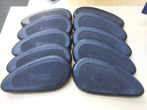5-X-PAIR-Triumph-Gas-Tank-Knee-Pad-Rubber-1949-63-82-2551-82-2552-WHOLESALE