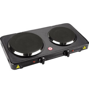 Image Is Loading Double Burner Portable Cooktop Aroma Freestanding Dual Electric