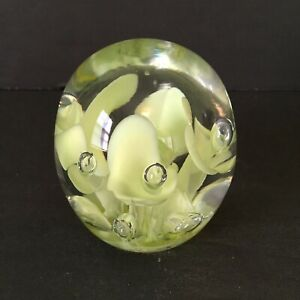 Joe St Clair Paperweight Pottery & Glass North American