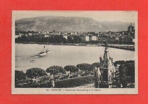 Switzerland - Geneva - Monument Brunschwig and The Salève (K581)
