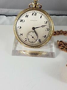 Hamilton Lancaster 914 pocket watch, working , nice collector pocket watch !