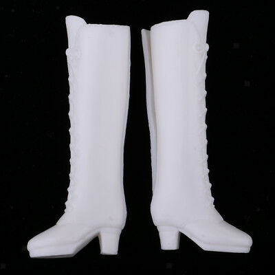 White Plastic Boots Rainshoes Shoes for 12inch Blythe 1//6 BJD LUTS DZ Dolls