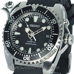NEW-SEIKO-PROSPEX-KINETIC-200M-PRO-DIVERS-With-RUBBER-BUCKLE-STRAP-SKA371P2