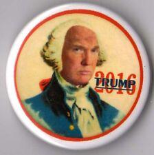 Donald Trump political campaign button pin 2016 George Washington