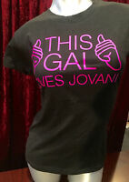 Beautiful Women Ladies T-shirt By Tultex Fine Jersey Says this Gal Loves Jovani