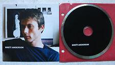 Brett Anderson – Same  Cardboard Promo CD  V2 – VVR1046322P  → Suede