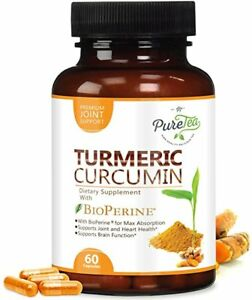 Details About Turmeric Forskolin Pills Extract Diet For Weight Loss Curcumin Capsule Men Women