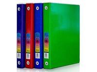 Bazic 3-ring Binder 2 Pocket 1 Astd Glitter on sale