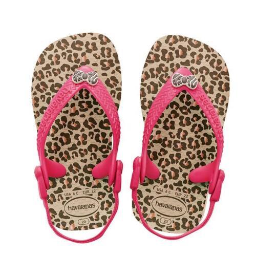 Havaianas 4119596 Baby Sandal Flip Flop Back-strap Sand Grey Size 6