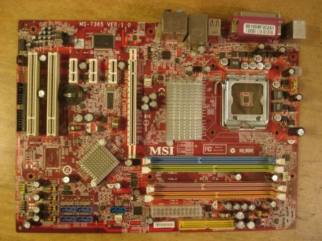 MSI P35 Neo Intel Driver for Windows 7