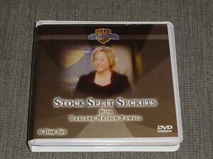 Darlene Nelson Stock Split Secrets 6 Dvd Bettertrades Stocks Options Trading Ebay