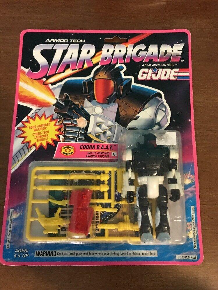 Vintage GI Joe Star Brigade Cobra B.A.A.T. Action Figure 1993 Factory Sealed MOC