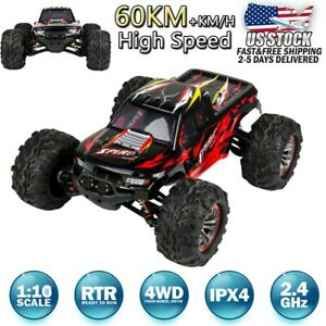 X04-2-4G-1-10-4WD-60km-h-High-speed-Remote-Control-Truck-Off-road-RC-Car-RTR