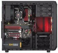 Corsair Carbide Series Spec-01 Mid Tower Computer Atx Case Gaming Window Storage
