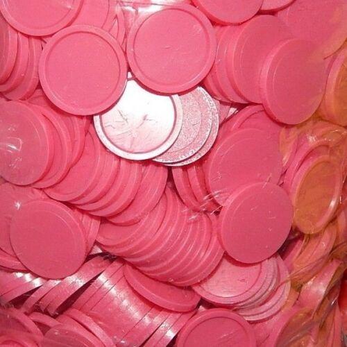 50 Einkaufswagenchips EKW  Pink