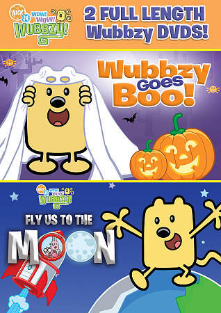 Wow Wow Wubbzy Wubbzy Goes Boo Fly Us To The Moon Dvd 2012 2 Disc Set For Sale Online Ebay