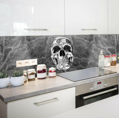 Küchenrückwand Totenkopf SP749 Spritzschutz  Fliesenspiegel Acrylglas