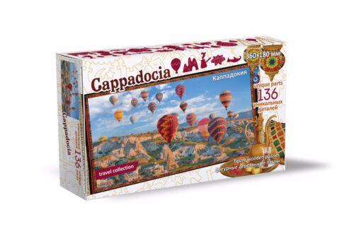 "Turkey"" 136 Pcs Wooden Figure Jigsaw Puzzle ""Cappadocia"