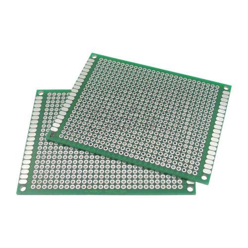 5PCS Double side Protoboard Circuit Universal DIY Prototype PCB Board 6cmx8cm