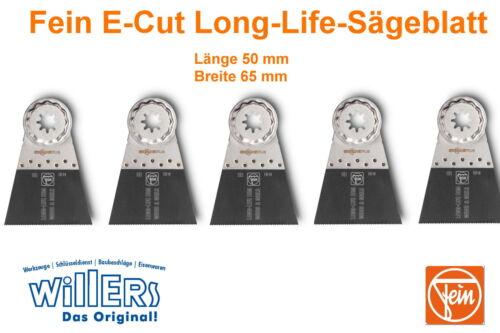 FEIN E-Cut Long-Life-Sägeblatt 65 mm mit Starlock-Plus5er Pack63502161230