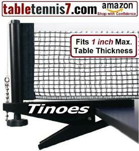 +  SALE!  Tinoes Professional Ping Pong Net & Post set - Height & Tension adjustment + Québec Preview