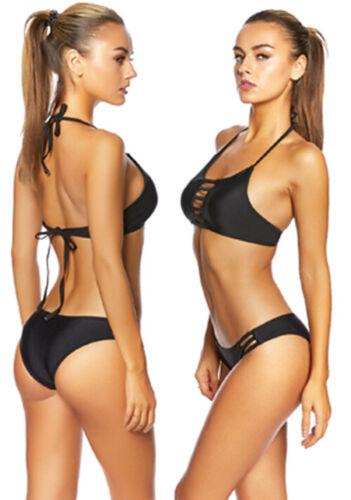 Color Nuovo Taglia 42 da Donna Cut Out Push Up Bikini Set Nero Ws-d-699-b13-sw