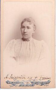 CDV-Foto-Damenportrait-mit-Widmung-Jena-1890er