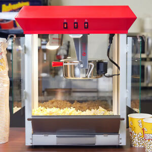 New Carnival King Commercial Popcorn Maker Machine 8 Oz