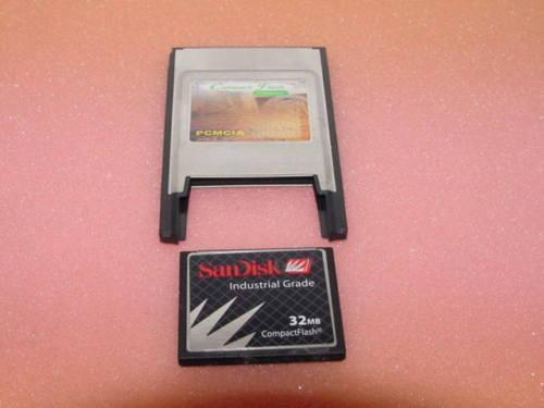 PCMCIA adapter for HP 200LX PALMTOP 32MB Memory Card