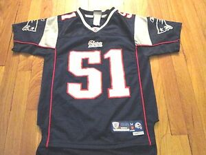 Details about REEBOK NFL EQUIPMENT NEW ENGLAND PATRIOTS JEROD MAYO PREMIER JERSEY YOUTH M