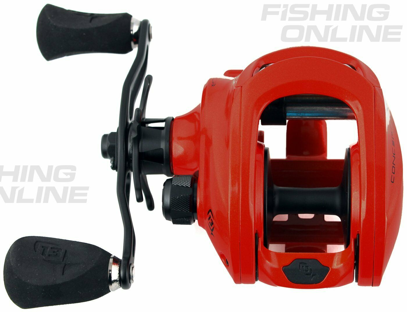 13 Fishing Concept Z Left Handed 7:3:1 Gear Ratio
