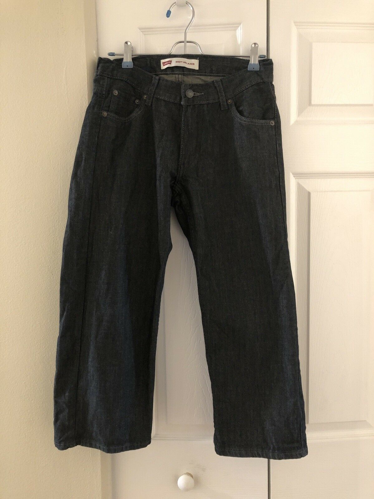 Doppler//Light Wash Essentials Boys Slim-Fit Jeans 16 Husky