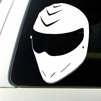 THE STIG Helmet Vinyl Sticker Decal Top Gear Racing UK USA JDM Honda dsm shocker