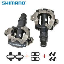 SHIMANO PD-M520 SPD MTB Mountain Bike pedal Clipless Cycling Pedals + Cleats NIB