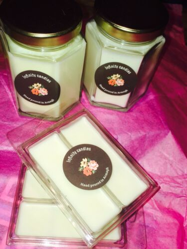 scented soy candles Alien Angel, Black Opium, Coco M Joe Malone