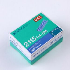 2 Boxes, MAX 2115 1/4 B-8 6.3mm leg length 5000 Staples for HD-88R ...