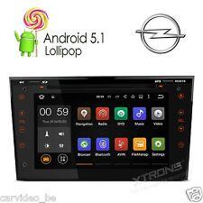 "Autoradio GPS OPEL Noir 7""Android 5.1 Lollipop DVD/USB WiFi 64bit Quad Core OBD2"