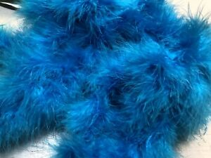 Halloween-Turquoise-Blue-Special-Offer-On-Marabou-Feather-Boa-10metres