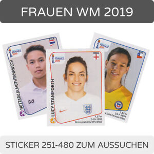 Panini Frauen WM 2019 Sticker 253 England Team